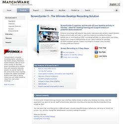 MatchWare ScreenCorder