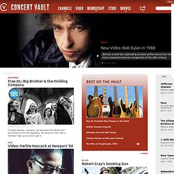 Free streaming live music, Live concert recordings, Live music d