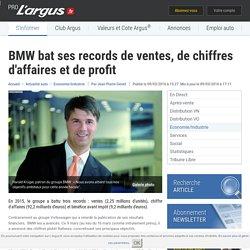 BMW bat ses records de ventes, de chiffres d'affaires et de profit – L'argus PRO