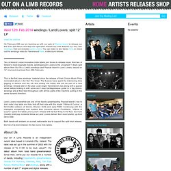 "Out On A Limb Records | News & Events | NEW WINDINGS DOUBLE A-SIDED 7"" & FUNDIT"