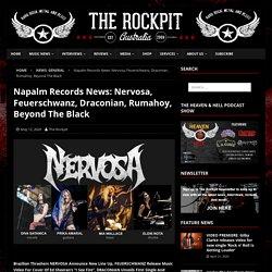 Napalm Records News: Nervosa, Feuerschwanz, Draconian, Rumahoy, Beyond The Black