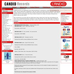 Jazz CDs by Candid Records, award winning jazz record label, CDs by Charles Mingus, Max Roach, Abbey Lincoln, Eric Dolphy, Jamie Cullum, Stacey Kent, Kyle Eastwood, Cormac Kenevey, Mishka Adams
