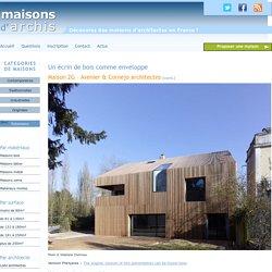 Maison recouverte de bois à Orsay - Avenier & Cornejo architectes
