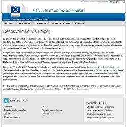 Recouvrement de l'impôt - Commission Européenne
