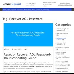 Recover AOL Password Archives - Email Squad