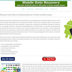 Recover Your Lost Android Media