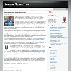 Recovered Memory Project