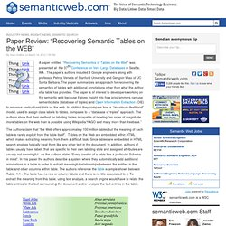 thesis on web semantics