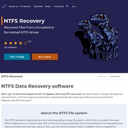 NTFS Recovery - Unformat and Repair NTFS drives