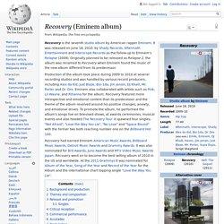 Recovery (Eminem album)