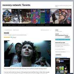 recovery network: Toronto
