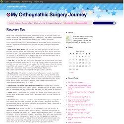 My Orthognathic Surgery Journey