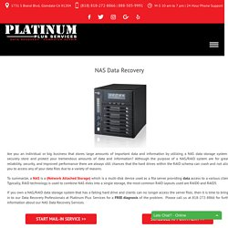 NAS Data Recovery - Platinum Plus Services