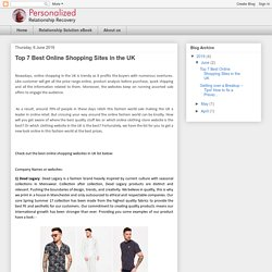 Top 7 Best Online Shopping Sites in the UK