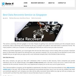 Best Data Recovery Service in Singapore -