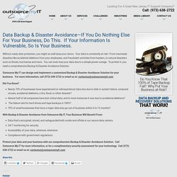Data Backup New Jersey