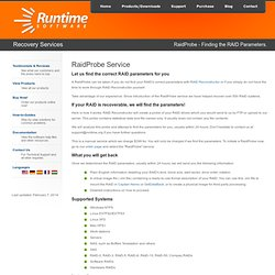 Data Recovery Software Products - Runtime Software Products