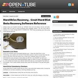 Hard Drive Recovery - Great Hard Disk Data Recovery Software Reference