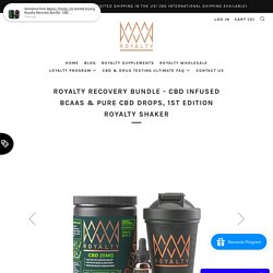 Best BCAA Supplements Powder Online – Royalty Extracts