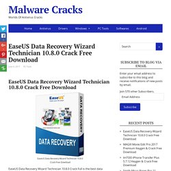 EaseUS Data Recovery Wizard Technician 10.8.0 Crack Free Download