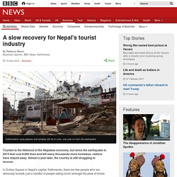 A slow recovery for Nepal's tourist industry