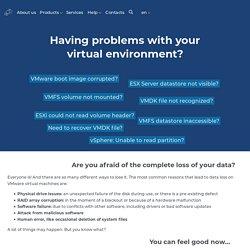 VMFS Recovery™ - repair VMDK, VMDK recovery tool
