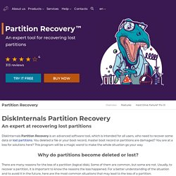 Partition Recovery™ and NTFS Data Recovery software