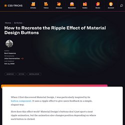 How to Recreate the Ripple Effect of Material Design Buttons