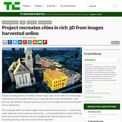 Project recreates cities in rich 3D from images harvested online