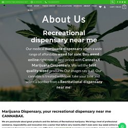 Recreational dispensary near me selling at Discount