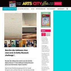 Recréez des tableaux chez vous avec le Getty Museum challenge !