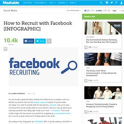How to Recruit with Facebook