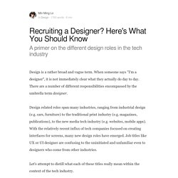 Recruiting a Designer? Here's What You Should Know - BOLD by Pixelapse