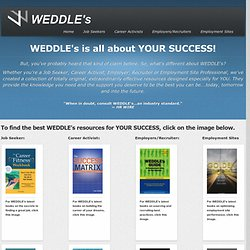 WEDDLE's - Job Search, Recruiting and Employment Resources - Profile :: TEST
