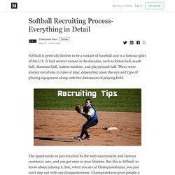 Softball Recruiting Process- Everything in Detail - Champions Farm - Medium