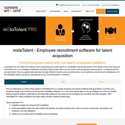 Careers Unbound – Employees Hiring Software