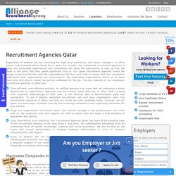 Recruitment Agencies in Qatar - Best Manpower Companies