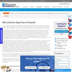 Recruitment Agencies in Kuwait - Manpower Agencies in Kuwait