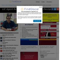 LIC Agent Recruitment - Ajit Prabhu, Devlopment Officer, LIC of INDIA, Dadar, Mumbai (2020)