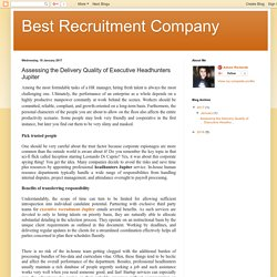 Get Full Range Of Recruitment Services Jupiter