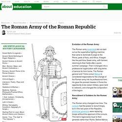Roman Army - Recruitment, Legions, Siege Warfare & More