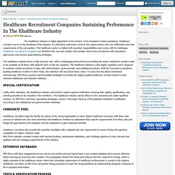 Healthcare Recruitment Companies Sustaining Performance In The Ehalthcare Industry by Glocal RPO