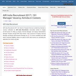 Privatejobshub - 2017 Recruitment/Application Form/ Jobs Vacancy