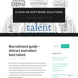 Recruitment guide – Attract and select best talent