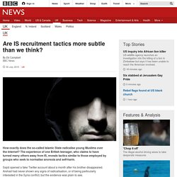 Are IS recruitment tactics more subtle than we think? - BBC News