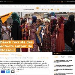 Daech recrute des enfants autour de Mossoul