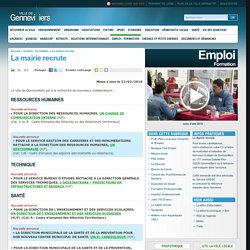 Gennevilliers : site officiel
