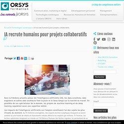 IA recrute humains pour projets collaboratifs -