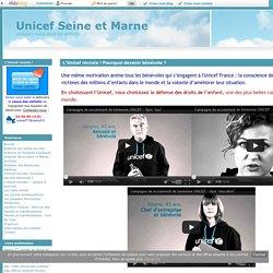 L'Unicef recrute ! Pourquoi devenir bénévole ? - Unicef Seine et Marne