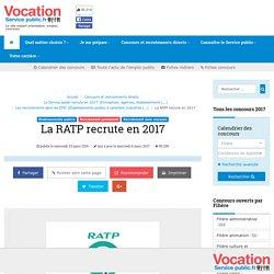 La RATP recrute en 2017 - Vocation Service Public